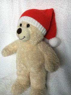 Nikolausmütze für Build a Bear TeddyBär Santa Claus Mütze