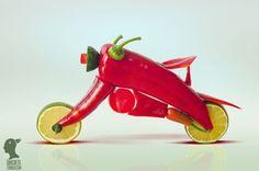 motorcycle by Dan Cretu