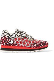 Stella McCartneyPrinted canvas sneakers