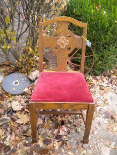 Vintage Church Chair