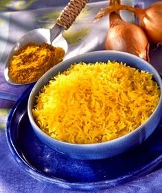 Arroz al curry facil