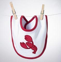 aweee a little lobster gourmet bib!! #JoesCrabShack #JoesMaineEvent