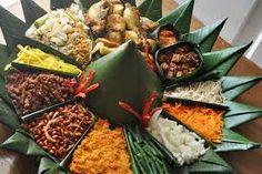 The Hidden Meaning Of Nasi Tumpeng Yellow Rice, Indonesian Food, Surabaya, Food Design, Drinking Tea, Asian Recipes, Catering, Seafood, Bbq