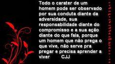 Pr C. J. Jacinto: Vida Cristã e Carater