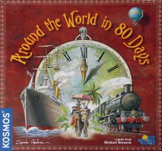 Around the World in 80 Days | Image | BoardGameGeek