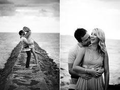 Shayne and Justin's Brisbane Beach Engagement Photos