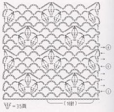 Crochet Diagram, Crochet Chart, Crochet Motif, Crochet Stitches, Crochet Patterns, Crochet Scarves, Textile Art, Stitch Patterns, Projects To Try