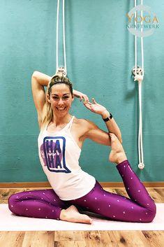 Stefanie Rohr hat im Januar 2018 mit ihrem selbst entwickelten Fitnesskonzept BODEGA, das funktionelles Workout und Bodyforming mit Yogaelementen verknüpft, das YogaKraftwerk gerockt! #stefanierohr #bodega #yoga #fitness #workout #yogakraftwerk