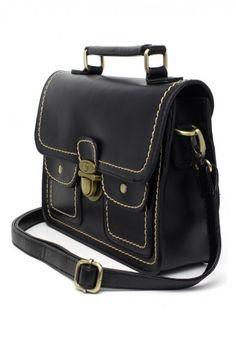 Old School Satchel Bag
