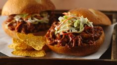 BBQ? Jamaican jerk seasoning and cola pull this pork sandwich flavor to the top.