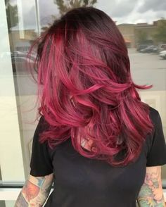 Jam, Cupid, Fireball, and Velvet.  @xostylistxo is the artist... Pulp Riot is the paint.