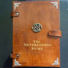 Never Ending Story tablet and e-reader cover. It almost makes me want to buy an e-reader...
