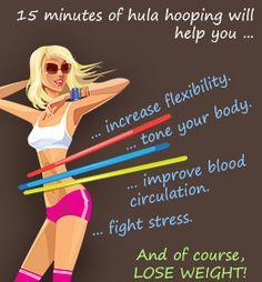 Health benefits of hula hooping