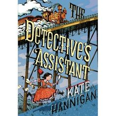 The incredible tale of America's first ever female detective and her spirited niece!  Eleven-year-old Nell Warne arrives on her aunt's do...