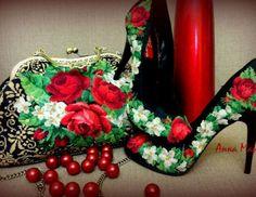 Вышитая обувь Анны Марчук (трафик) / Модная обувь / Своими руками - выкройки, переделка одежды, декор интерьера своими руками - от ВТОРАЯ УЛИЦА