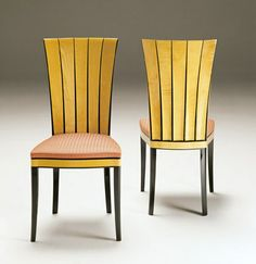 Eliel Saarinen Dining Room Chairs