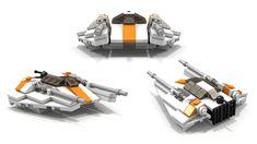 LEGO Star Wars T-47 Airspeeder/Snowspeeder