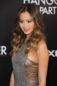 Jamie Chung Hair Love the style and tones  FOR LATEST HAIRSTYLES, HAIR TRENDS AND HAIR ADVICE VISIT US  WWW.UKHAIRDRESSERS.COM