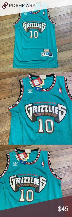 cf916ce9a0c NWT Mike Bibby Vancouver Grizzlies NBA Jersey Brand New with Tags Men s  Size Small Authentic