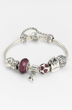 PANDORA 'Love Connection' Safety Chain available at #Nordstrom
