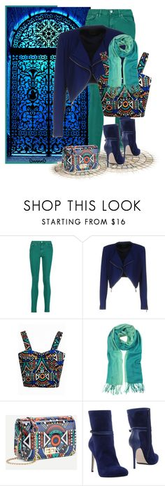"""""""Street Style"""" by ganing ❤ liked on Polyvore featuring Acne Studios, Pinko, WithChic, Mila Schön, Le Silla, StreetStyle, Dailylook and polyvoreatitsbest"""