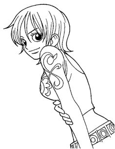 anime manga one piece coloring pages printable online coloring pages