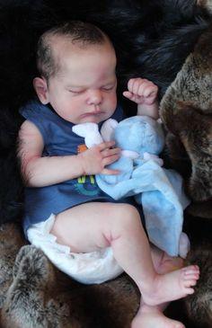 Beautiful Reborn Baby Boy Doll ~ Genevieve ~ Sam's Reborn Nursery ~