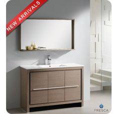 Photo Album Gallery  Energia Modern Bathroom Vanity with Mirror Orange Bold and retro Modern Vanities Pinterest Orange bathrooms Bathroom vanities and