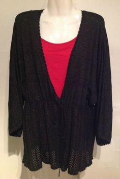 New Lane Bryant Sweater Top Plus Size 26/28 + Free New L. Bryant Cami !  $19.99
