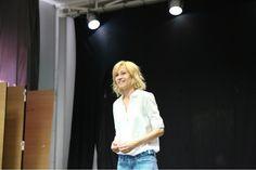 Встреча с Ингеборгой Дапкунайте в Санкт-Петербургской государственной академии театрального искусства