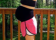 Compression Band- support for belly during exercise. Need this for next pregnancy to avoid ligament pains.