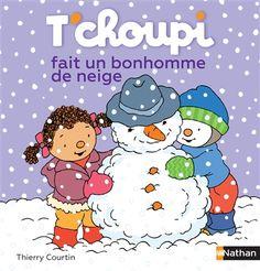 T'choupi profite de l'hiver pour apprendre à faire un bonhomme de neige. Cote : JA bb T