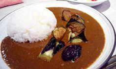 """""""Yoshida curry"""" in Tokyo"""