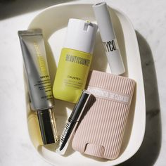 If it's in @ lindsay_dahl's bag, you know it's good. 👆 Our Head of Social Mission reveals the everyday clean beauty essentials she can't be without. 🏆 Clean Makeup, Dahl, Beauty Essentials, Clean Beauty, Bronzer, Lip Colors, Lotion, Skin Care, Cleaning