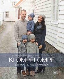 Klompelompe av Hanne Andreassen Hjelmås og Torunn Steinsland (Innbundet) Knitting Books, Author, Movie Posters, Inspirational, Craft, Crochet, Projects, Log Projects, Blue Prints