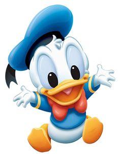 Baby Donald Duck Walt Disney Character