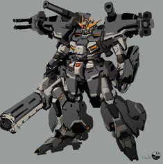 Mecha Suit, Gundam Wallpapers, Gundam Custom Build, Sci Fi Armor, Gundam Art, Mecha Anime, Robot Design, Mechanical Design, Gundam Model
