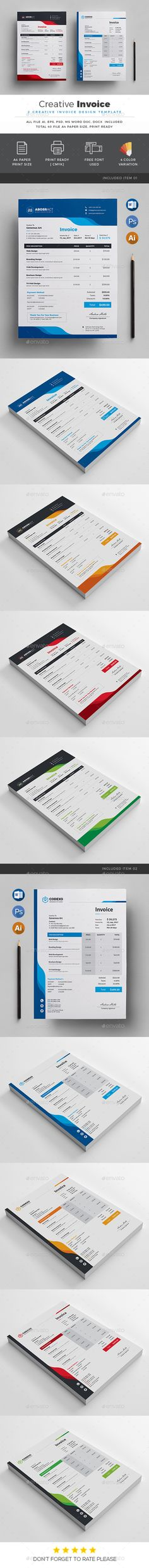 Invoice Stationery printing, Print templates and Template - print an invoice