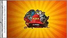 Lego Ninjago - Kit Completo com molduras para convites, rótulos para guloseimas, lembrancinhas e imagens! Lego Ninjago, Blogger Templates, Movie Posters, Art, Lego Birthday, Sweet Like Candy, Diy Home, Moldings, You Complete Me