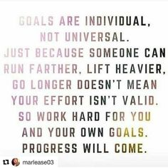 [from @Hero.Fit on Instagram] #Fitfam I know many of you are like me we like photos not quotes usually. It's nice to have reminders like this though. Part of the reason I started this was to be an inspiration encourage us along our fitness journey and promote the Fitness lifestyle.  #Repost @marlease03  Count your own progress. Be the change you want to see. It's okay to slip from time to time no one is perfect. Challenge yourself in ways you have never before I promise you won't regret it…