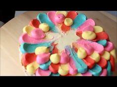 Торт Радуга декор - YouTube