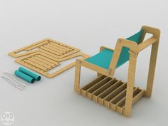 this flat pack furniture shows some interesting sustainability ideas and flat pack concepts, the method of flat pack is good and I will consider using it.