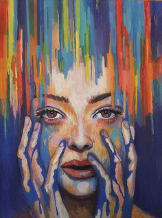 Melting  #painting #colorful