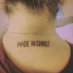 "My first tattoo ""For we are God's masterpiece. He has created us anew in Christ Jesus, so we can do the good things he planned for us long ago."" ‭‭Ephesians‬ ‭2:10‬ ‭NLT‬‬ http://bible.com/116/eph.2.10.nlt  It's a truth that I'm thankful everyday to have learned☺️ I am so in love with my creator"