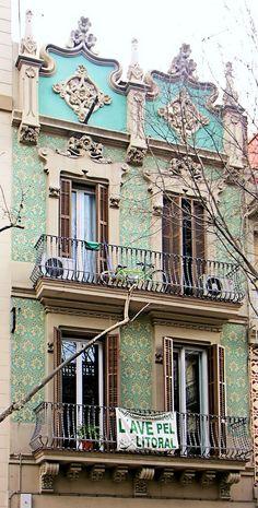 Casa Mateu Garcia  1903  Architect: Domènec Boada i Piera - Barcelona