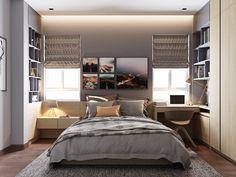 Top 6 Grey Bedroom Interior Designs of 2016