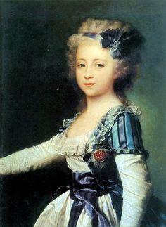 Grand Duchess Elena Pavlovna As A Child 2