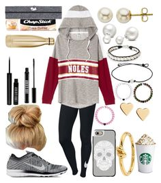 """""""2 stars are brighter than one✨"""" by xo-arissa-xo ❤ liked on Polyvore featuring NIKE, Lord & Taylor, Lord & Berry, Chapstick, S'well, Allurez, NOVICA, Everest, Lipsy and Casetify"""