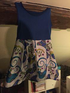 Tulla jurk la maison Victor maat 128 selfmade