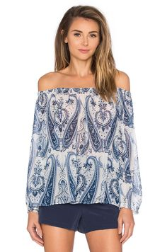 Joie Bamboo Top in Periwinkle